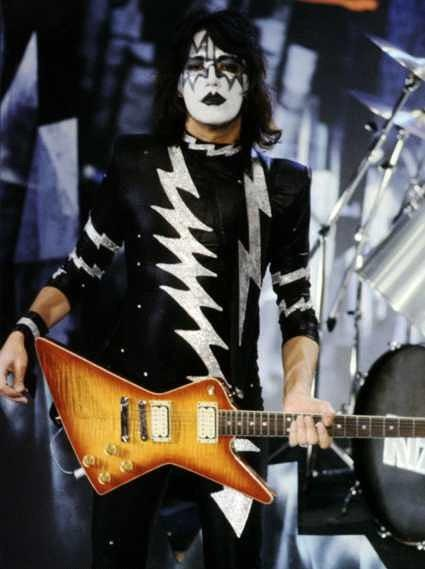 Ace Frehley Les Paul - History 1980 to 1982