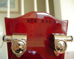 inked on custom ace frehley